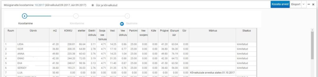 üüriaverte tabel LI 1024x248 - Müügiarvete koostamine